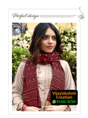 Ladies Flavour Aarohi Vol 3 Design No 1002 Chinon Lining