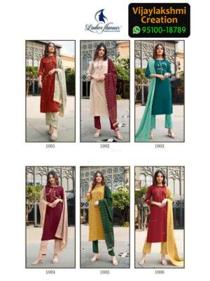 Ladies Flavour Aarohi Vol 3 Chinon Lining Kurti Full Catalogue