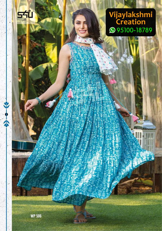 S4U 506 Weekend Passions Volume 5 Cotton Kurti in Single Piece