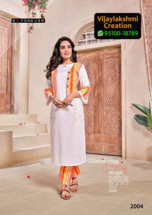 S3 Forever 2004 Cotton Kurti in Single Piece, Catalog Name Hello Summer