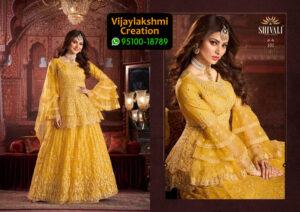 Shivali 101 Georgette Kurti in Single Piece, Catalog Name Urvashi Peplam