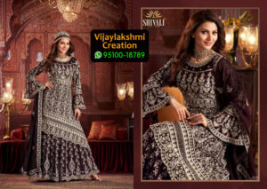 Shivali 102 Fancy Velvet Kurti with Embroidered in Single Piece, Catalogue Name Halime Sultan