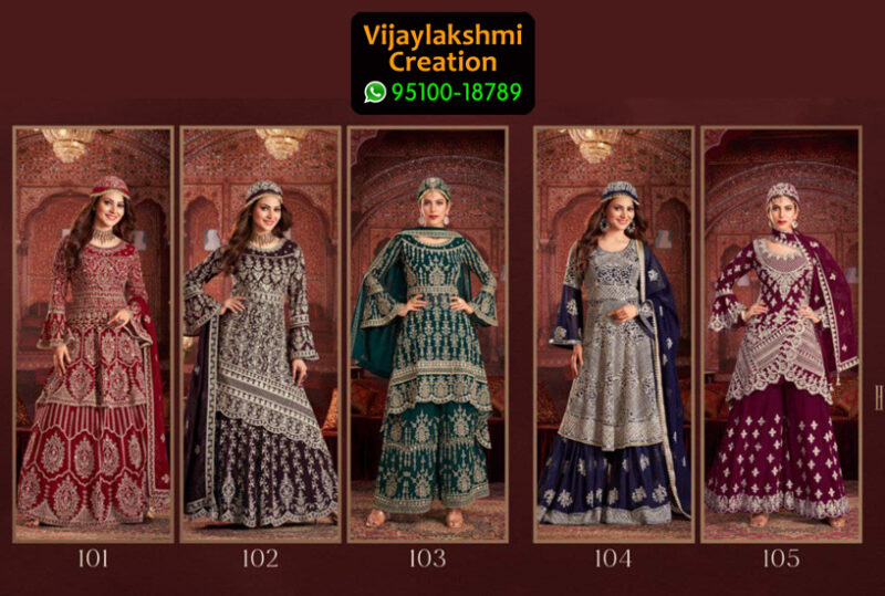 Shivali Halime Sultan Fancy Velvet Kurti with Embroidered in Single Piece