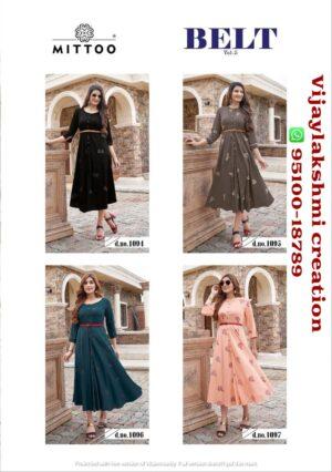 Mitto Belt Vol 5 kurti full catalog