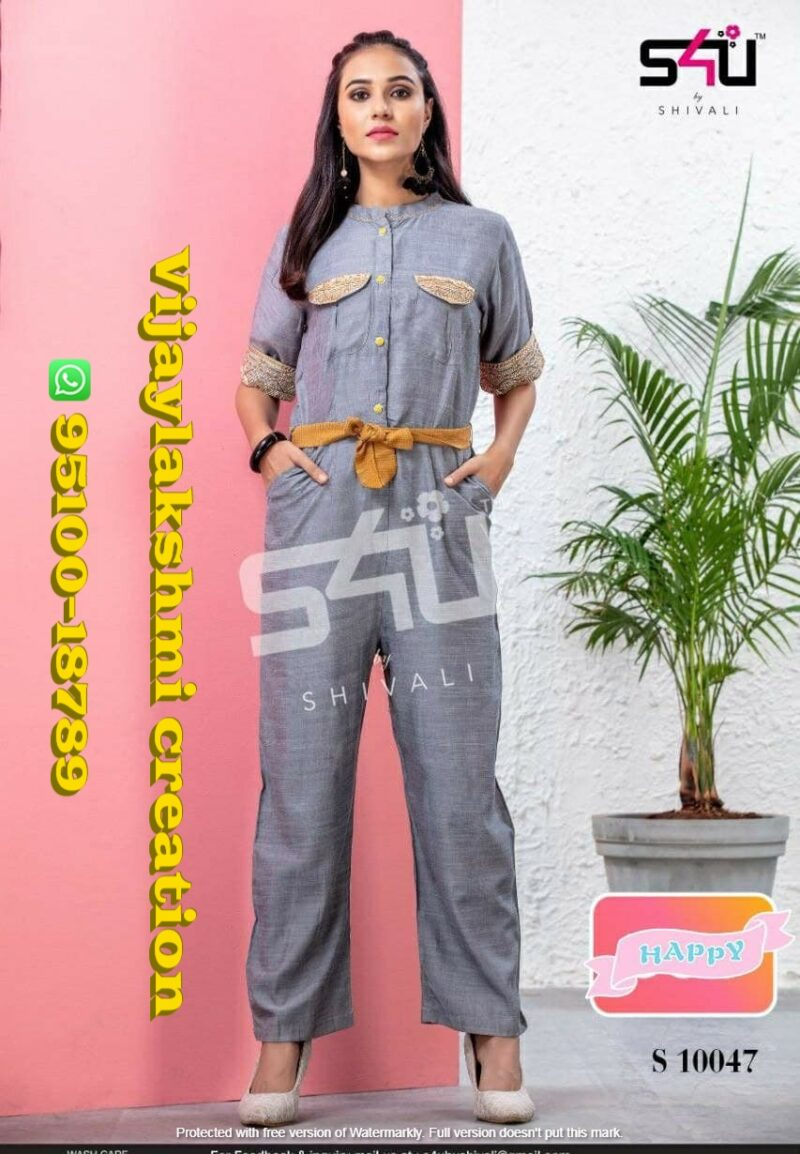 s4u jumpsuit design s 10047