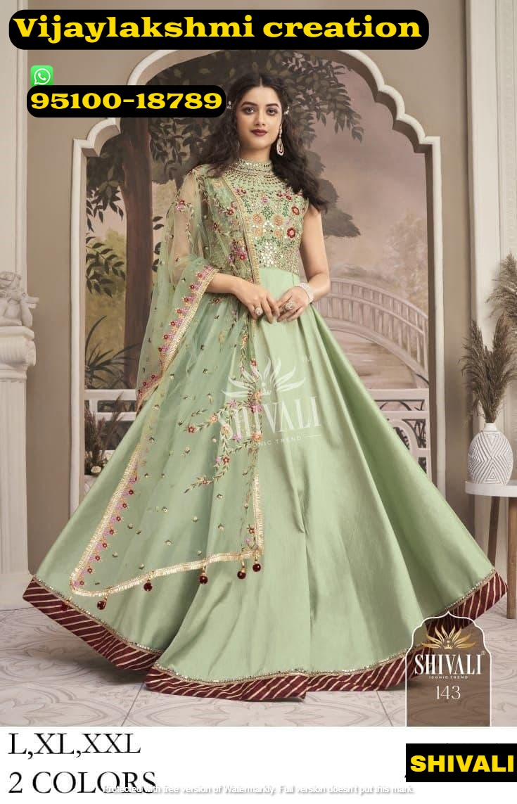 shivali 143 long gown