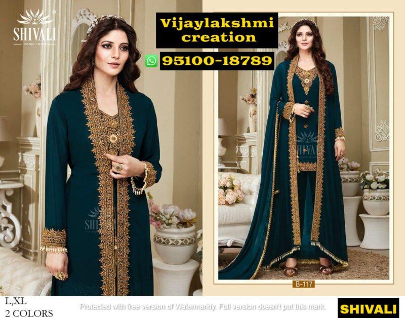 shivali b 117 gown