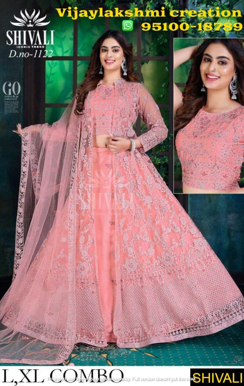 Shivali D.No. 1122 wedding collection