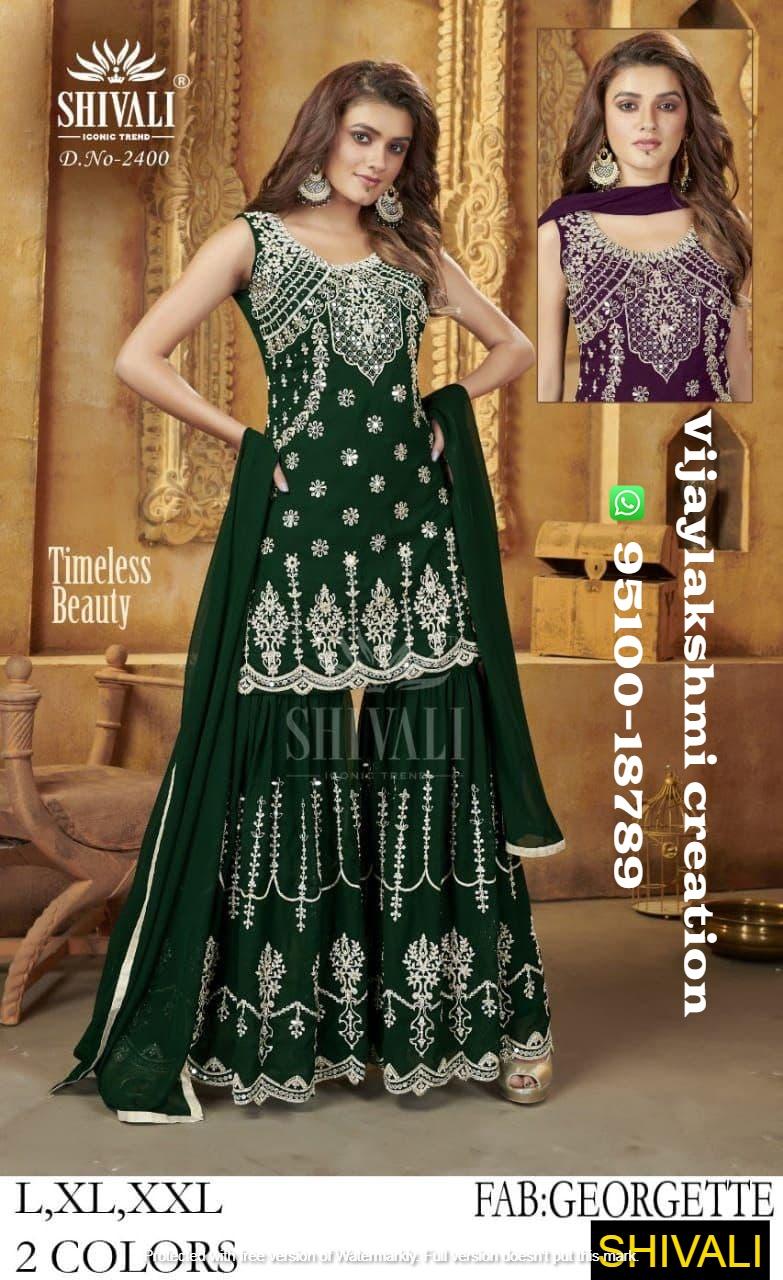 Shivali D.No. 2400 wedding collection