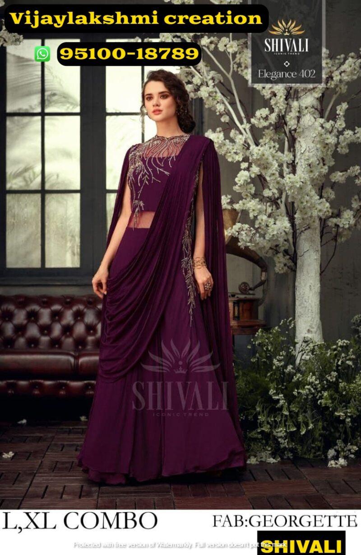 shivali elegance 402 top with bottom