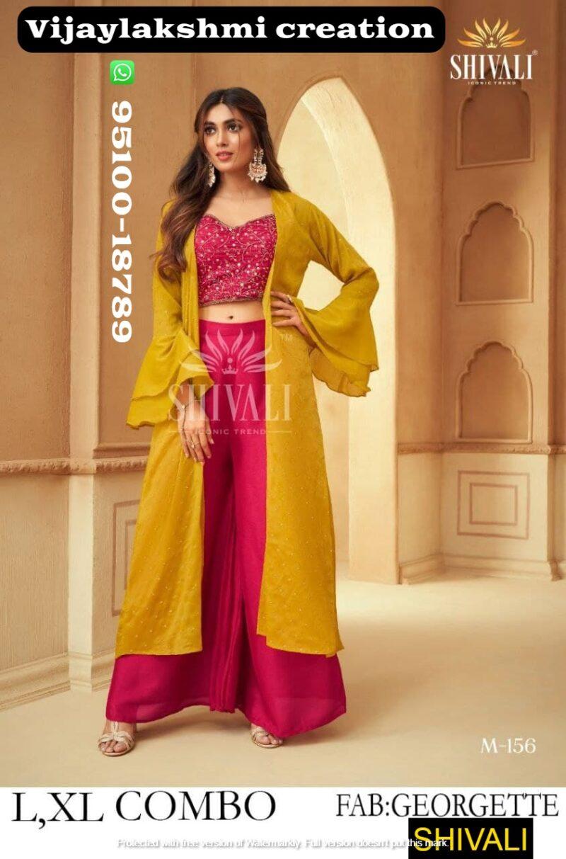shivali m 1596 indo western wear