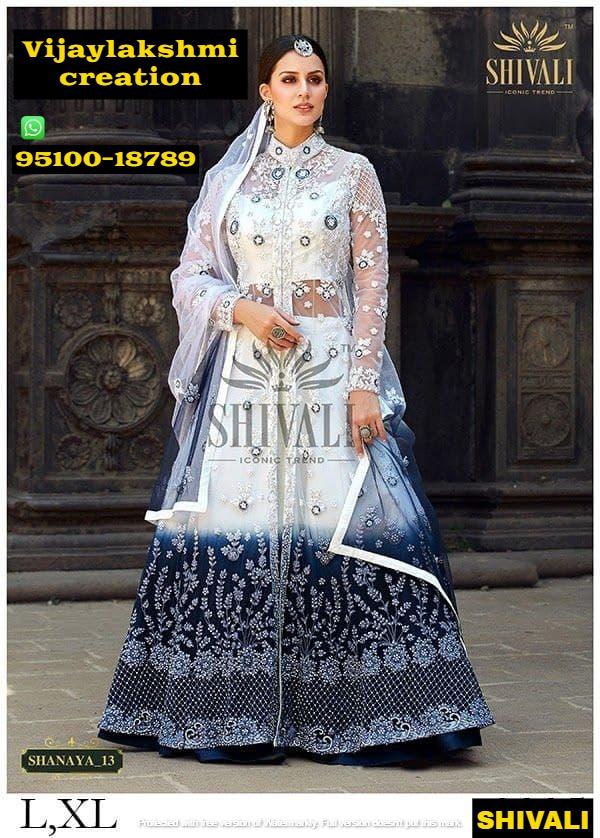shivali shanaya 13 gown