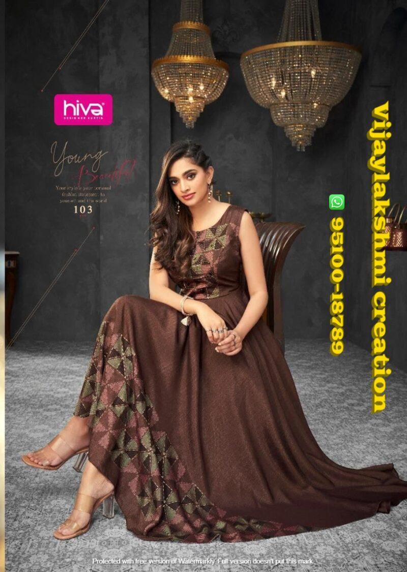 hiva flow 8 103 long gown
