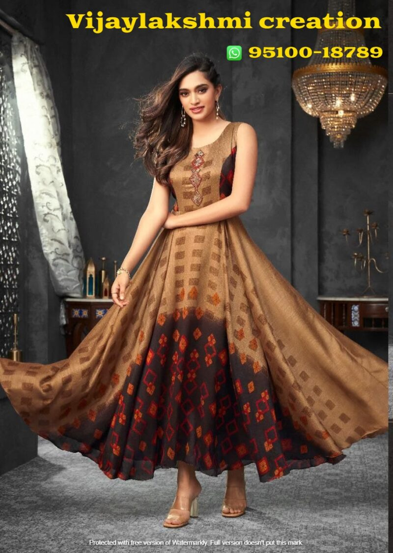 hiva flow 8 104 a long gown