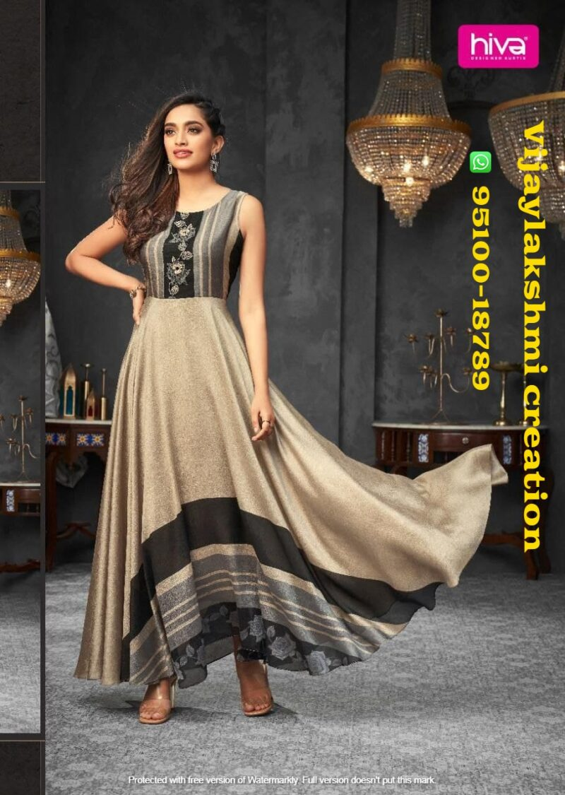 hiva flow 8 106 a long gown