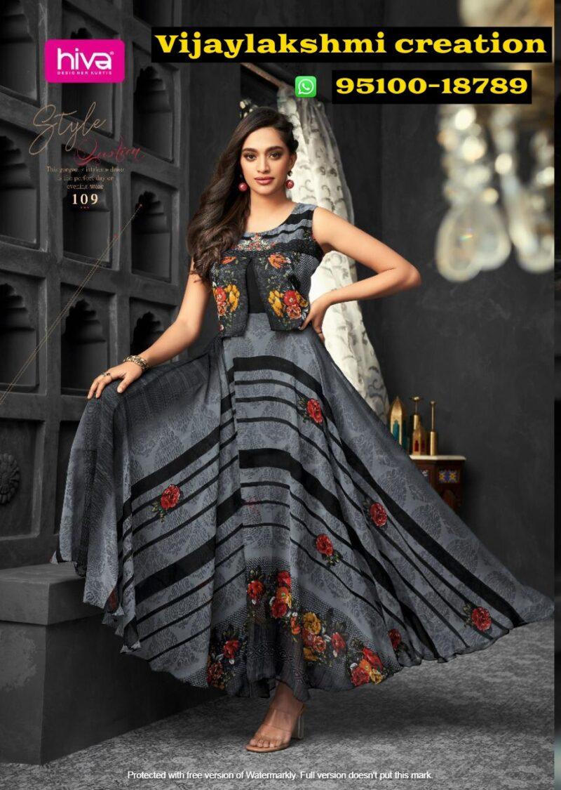 hiva flow 8 109 long gown