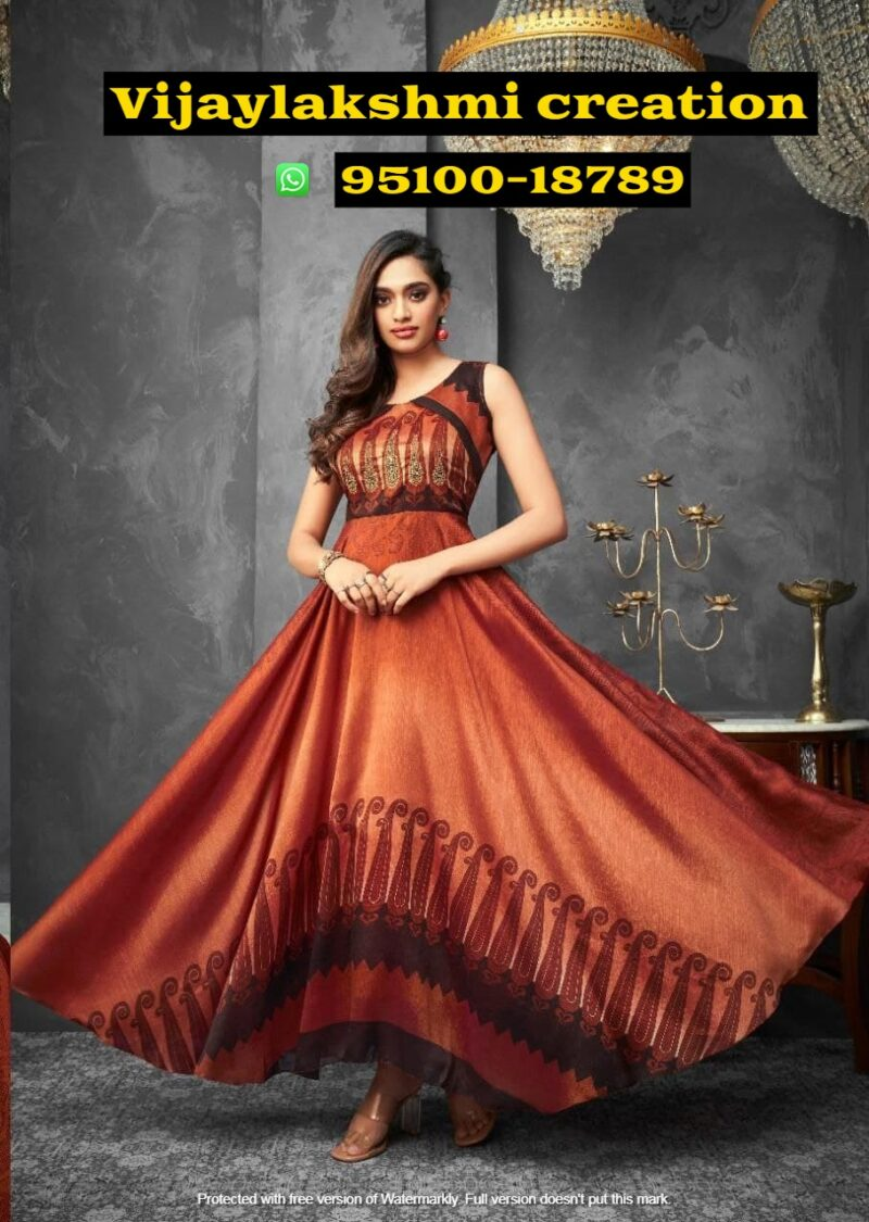 hiva flow 8 110 a long gown