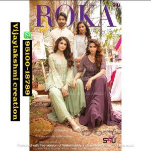 S4U Roka Wedding Saga Wedding wear full catalog and in singles