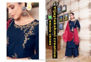 Sweety Fashion Vegas 1001 kurti with sharara with duppata set