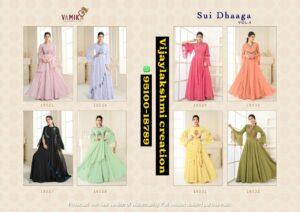 Vamika Sui Dhaaga Vol 4 Gowns Full Catalog