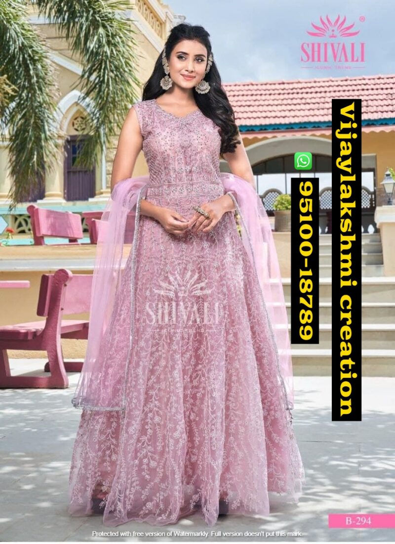 s4u fd vlc special pink evening gown