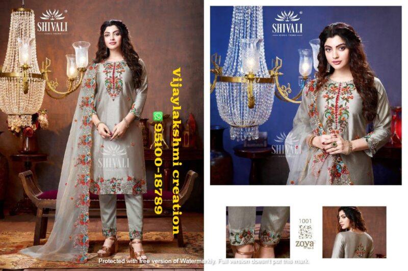 shivali zoya vol 3 1001 paksistani style readymade suit
