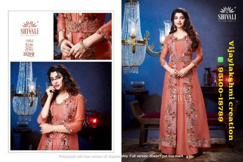 shivali zoya vol 3 1002 pakistani style readymade suit